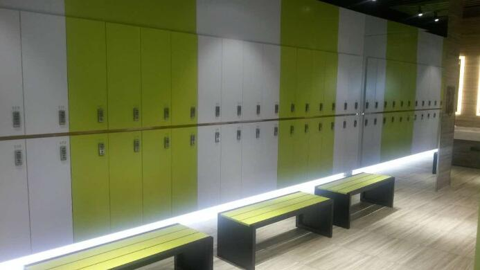 DEBO® MDF Locker system design for male...