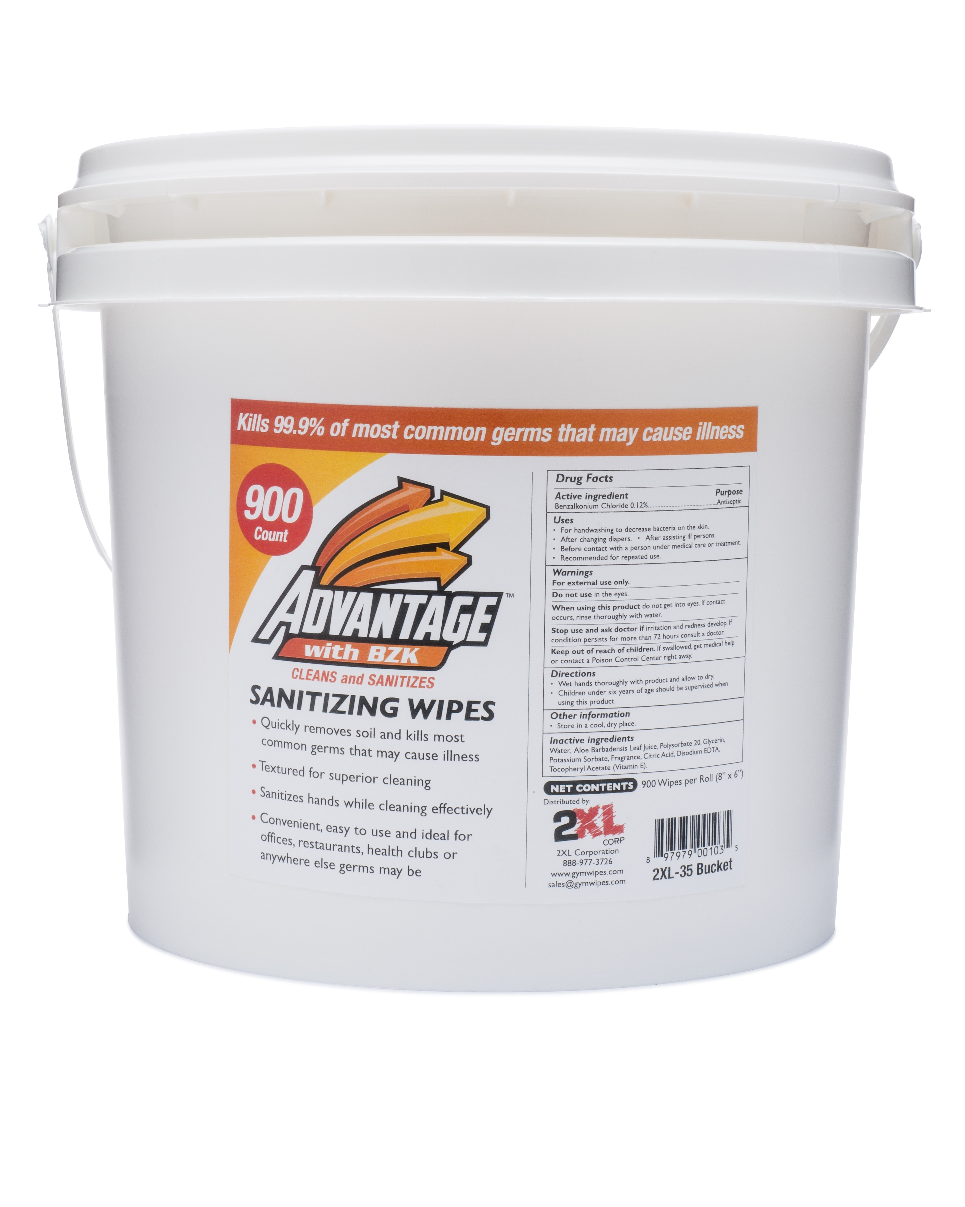 ADVANTAGE SANTIZING WIPES