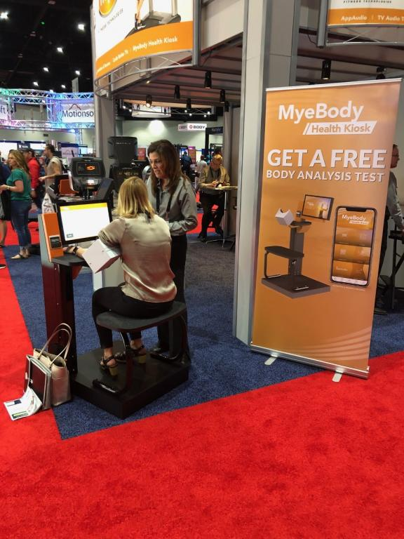 MYE Fitness Technologies at the 2019 IHRSA Tradeshow