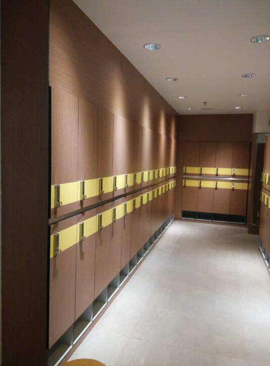 DEBO® HPL Locker system design for fema...